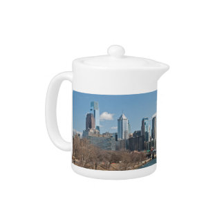Philly winter teapot