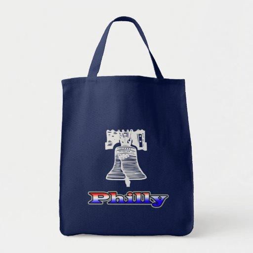 Philly y Liberty Bell Bolsa