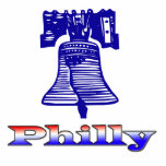 Philly y Liberty Bell Esculturas Fotográficas