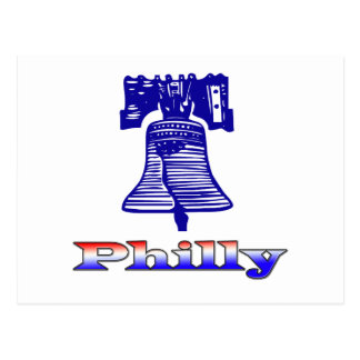 Philly y Liberty Bell Postal