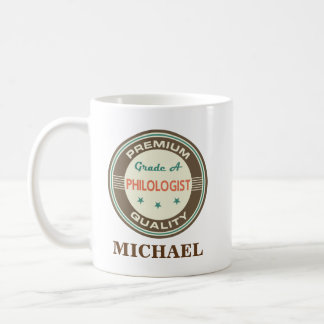 Philologist Personalized Office Mug Gift