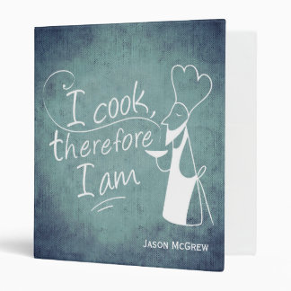 Philosopher Cook Personalized Recipe Binder