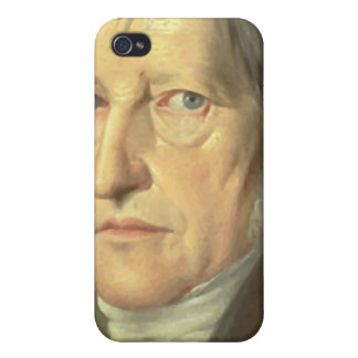Philosopher Georg Hegel iPhone 4 Cases
