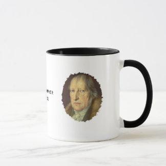 Philosopher Georg Hegel Mug