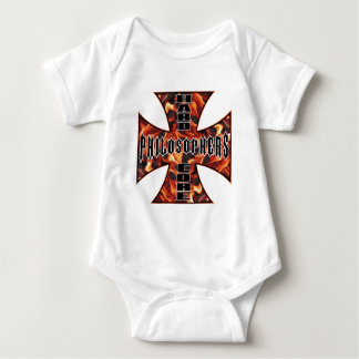 Philosopher Hard Core Baby Bodysuit