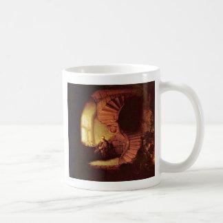 Philosopher In Meditation. By Rembrandt Van Rijn Coffee Mugs
