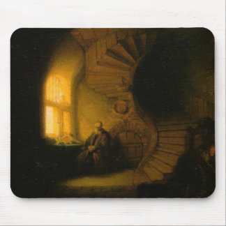 Philosopher in Meditation Mouse Pad