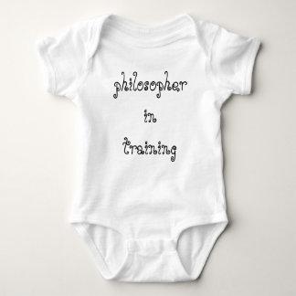Philosopher in Training infant creeper