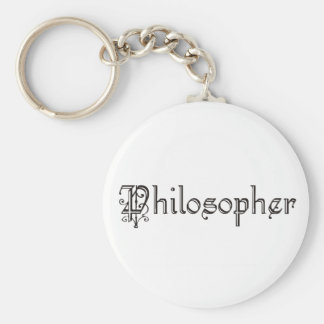 Philosopher Keychains