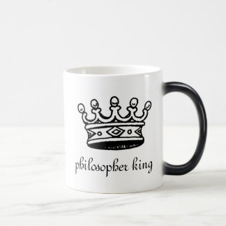 Philosopher King heat morphing mug (left-hand)