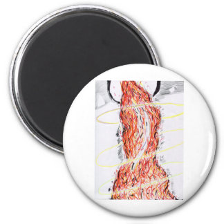 Philosopher King 2 Inch Round Magnet