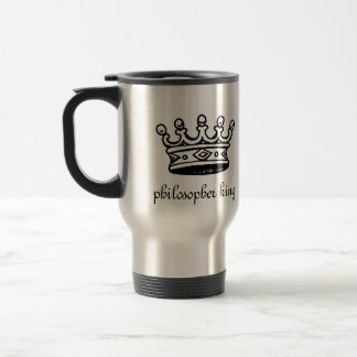 Philosopher King travel mug (right-hand)