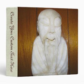 Philosopher Monk 3 Ring Binder