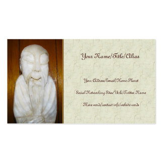 Philosopher Monk Business Card