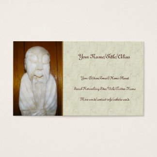 Philosopher Monk Business Card