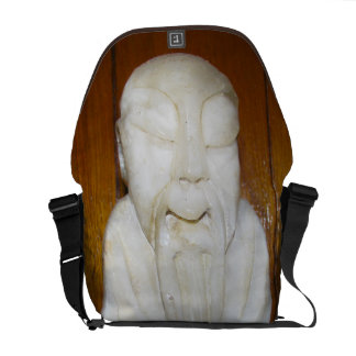 Philosopher Monk Courier Bags