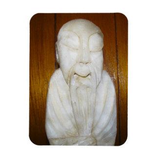 Philosopher Monk Magnet