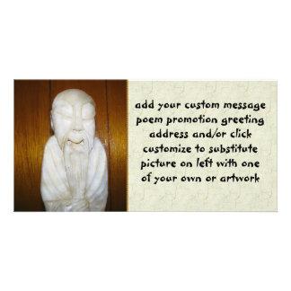 Philosopher Monk Photo Greeting Card