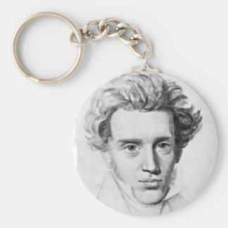 Philosopher Soren Kierkegaard Key Chains