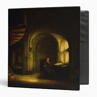 Philosopher with an Open Book, 1625-7 (oil on pane Binder