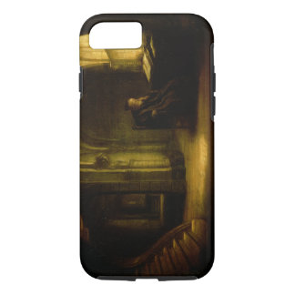 Philosopher with an Open Book, 1625-7 (oil on pane iPhone 8/7 Case