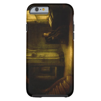 Philosopher with an Open Book, 1625-7 (oil on pane iPhone 6 Case