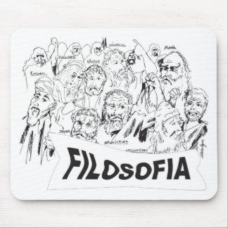 PHILOSOPHERS Plato Aristotle euclides Socrates Mouse Pad