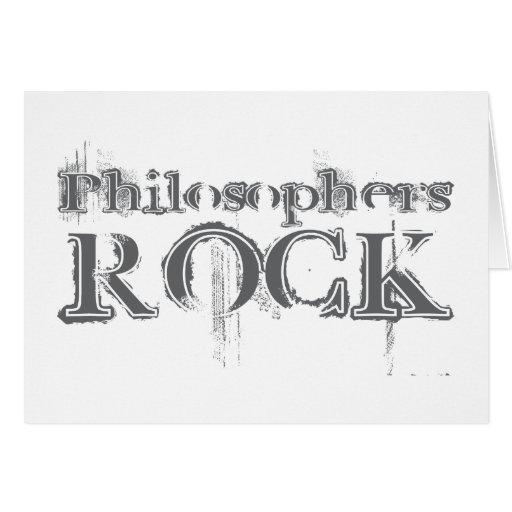 Philosophers Rock Card