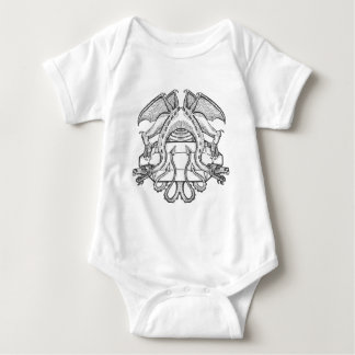 Philosopher's Stone Dragon Emblem Baby Bodysuit