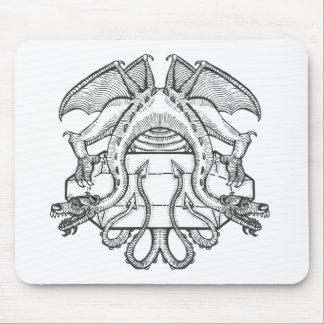 Philosopher's Stone Dragon Emblem Mouse Pad