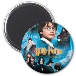 Philosopher's Stone Poster 2 Inch Round Magnet