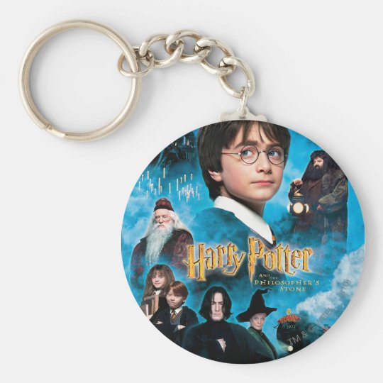 Philosopher's Stone Poster Keychain