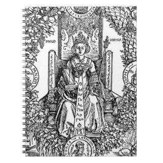 Philosophia by Albrecht Durer Notebook