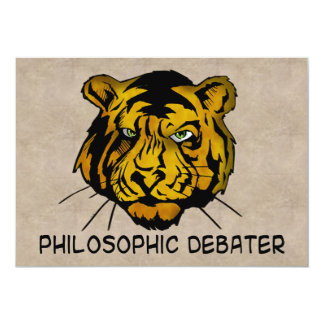 Philosophic Debater Card