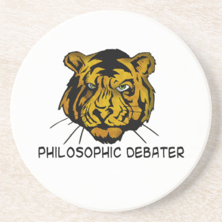 Philosophic Debater Coaster