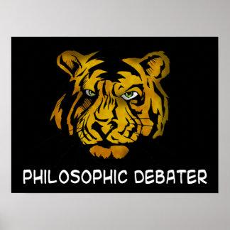 Philosophic Debater Poster