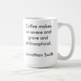 Philosophical Coffee Classic White Coffee Mug