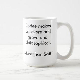 Philosophical Coffee Coffee Mug