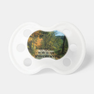 Philosophical Quote Pacifier