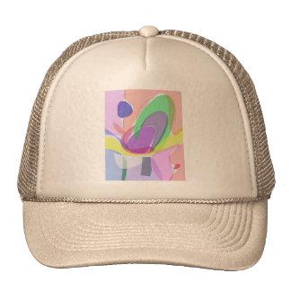 Philosophical Tree, Flower and Fruit Trucker Hat