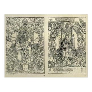 Philosophy and a Habsburg Emperor Postcard