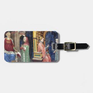Philosophy and Grammar by Gentile da Fabriano Luggage Tag