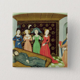 Philosophy and the Muses Button