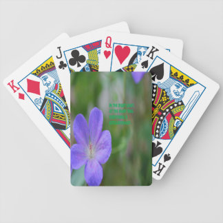 Philosophy Bicycle Playing Cards