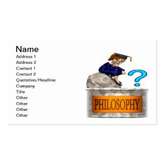 Philosophy Business Card