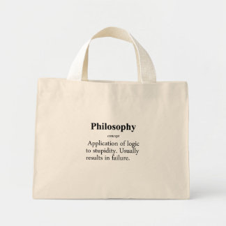 Philosophy Definition Mini Tote Bag