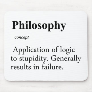 Philosophy Definition Mouse Pad