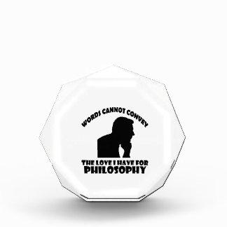 Philosophy designs award