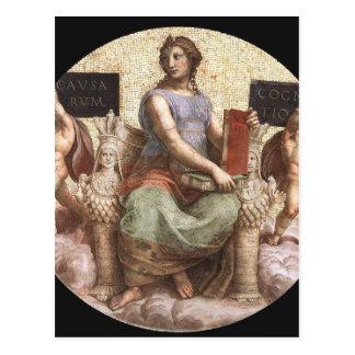 Philosophy from 'Stanza della Segnatura' Raphael Postcard