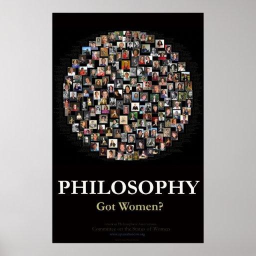Philosophy - Got Women? Poster